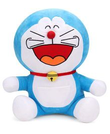 Doraemon Laughing Soft Toy Blue - 43 cm