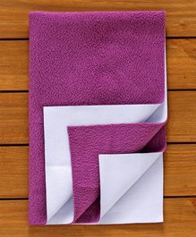 Adore Insta Dry Bed Protector Sheet Small - Purple