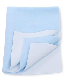Adore Insta Dry Bed Protector Sheet Small - Blue