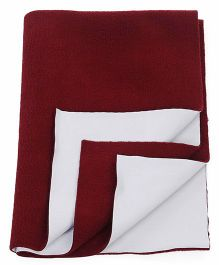 Adore Insta Dry Bed Protector Sheet Small - Maroon
