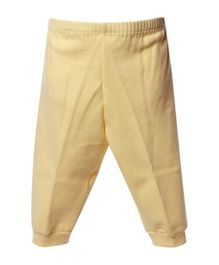 Child World Full Length Thermal Bottoms - Yellow
