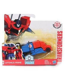 Transformers Combiner Force RID Optimus Prime Figure Car - Red Blue