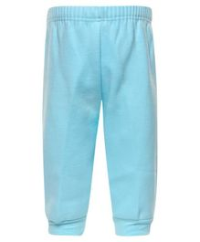 Child World Full Length Thermal Bottoms - Aqua Blue