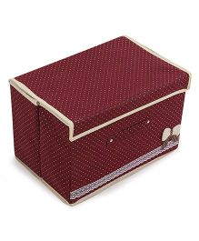 Foldable Storage Box - Maroon