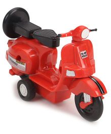 Centy Pullback Chetak Toy Scooter - Red