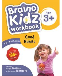 Braino Kidz Workbook Good Habits Blue Yellow - English