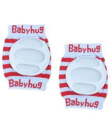 Babyhug Elbow & Knee Protection Pads - Blue Red