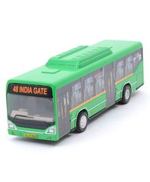 Centy Pullback Low Floor Toy Bus - Green
