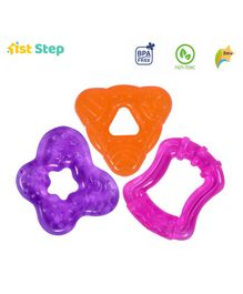 1st Step Water Filled Teethers Pack of 3 - Multicolor