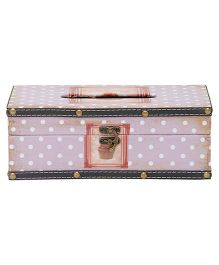 EZ Life Vintage Tissue Box Holder - Purple