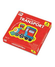 Braino Kids Little Kids Puzzles Transport - Red