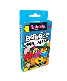Green Board BrainBox Bounce Mr Men Card Game - Multicolor