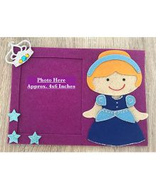 Kalacaree Doll Theme Magnetic Photo Frame - Purple