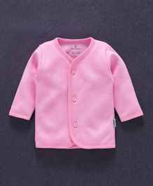Child World Full Sleeves Vest - Pink