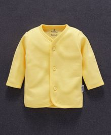 Child World Full Sleeves Vest - Yellow