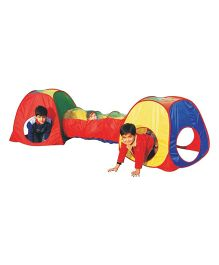 Playhood Baby Tunnel Tent - Multi Color