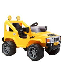 Marktech B Wild Hemvee Single Seater Ride On Jeep - Yellow
