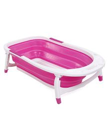 U-grow Foldable Bathtub - Pink