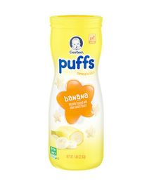 Gerber Banana Puffs Cereal Snack - 42 gm