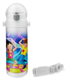 Hot Muggs Dancer Print Insulated Stainless Steel Sipper Water Bottle - 350 ml