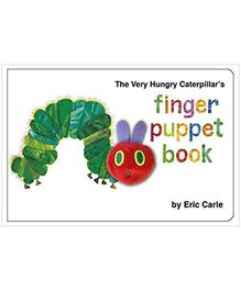 Very Hungry Caterpillars Finger Puppet Book - English