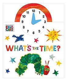 The World Of Eric Carle Whats The Time Story Book - English