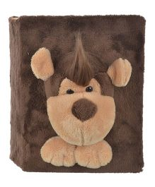 Twisha Nx Monkey Photo Album - Brown Cream
