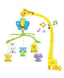 Playhood Musical Cot Mobile - Yellow