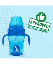 Mee Mee 2 in 1 Spout & Straw Sipper Cup Blue - 210 ml