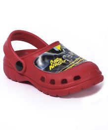 Cutewalk By Babyhug Clogs Dark Knight - Red