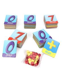 Awals Math Builder Learning Cards With Activity Beads Multicolor - 75 Pieces