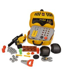 Sunny Tools Play Set With Case - Yellow