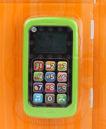 Leapfrog Chat And Count Phone - Green