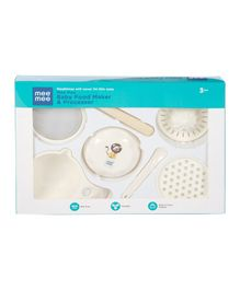 Mee Mee Baby Food Maker Processor - 7 Pieces