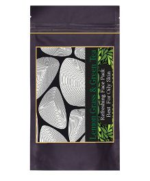 Forest Botanicals Lemon Grass & Green Tea Face Pack - 75 grams