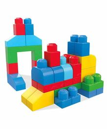 Mega Bloks Let's Build It Set - 40 Pieces