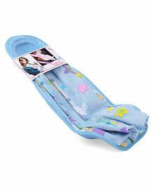 Hoopa Printed Feeding Pillow Cum Carrier - Blue