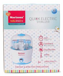 Morisons Baby Dreams Quick Electric Sterilizer - 6 bottles