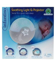 Infantino Soothing Light & Projector - Light Blue