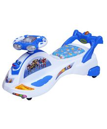 Ehomekart Transformers Twist & Swing Magic Car - Blue White