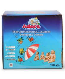 Adore Baby Antibacterial Laundry Detergent Powder - 1000 gm