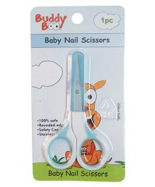 Buddyboo Baby Nail Scissors - Blue
