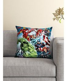 Athom Trendz Marvel Avengers Cushion With Cover MAR-10-3-D49-FL-M - Multicolor