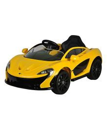 GetBest Officially Licensed Mclaren P1 Battery Operated  Ride on Car For Kids - Yellow