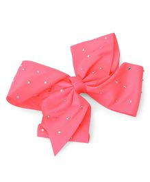 Bowtastic Large Bow Clip - Hot Pink