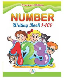 Number Writing Book 1 To 100 - English