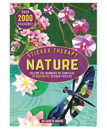 Sticker Therapy Nature Book - English