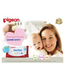 Pigeon Water Base Baby Wipes - Pack of 30 Sheets