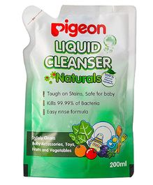 Pigeon Liquid Cleanser Naturals Refill Pack - 200 ml