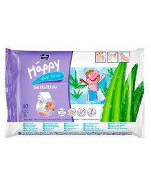Bella Baby Happy Wet Wipes - 10 Pieces